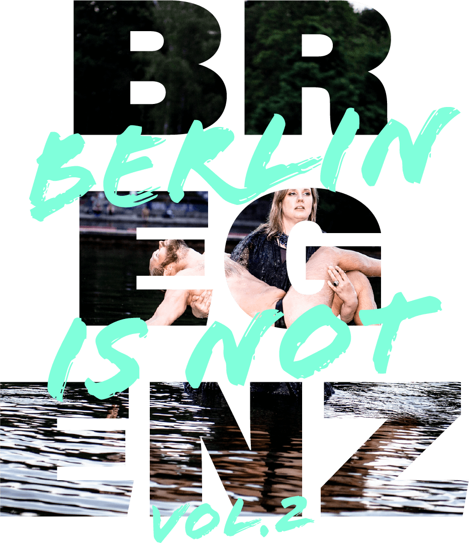 Berlin is not Bregenz Vol2. Logo